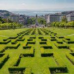 VIAJES   Lisboa descubre ya sus bellos parques y jardines.